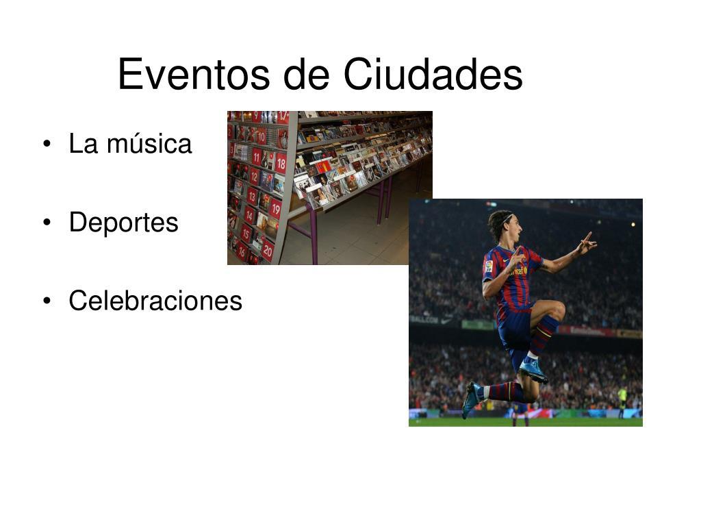 Eventos de Ciudades