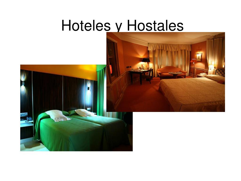 Hoteles y Hostales