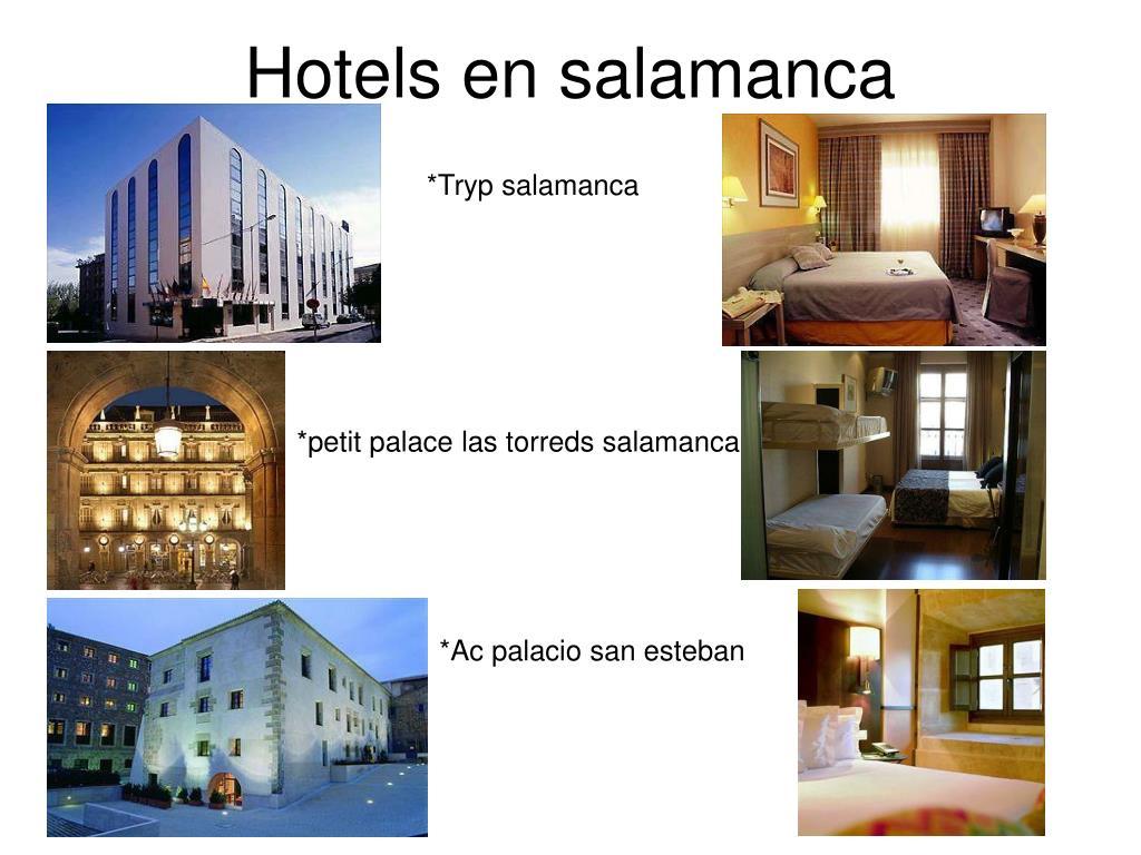 Hotels en salamanca