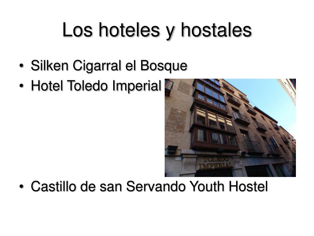 Los hoteles y hostales