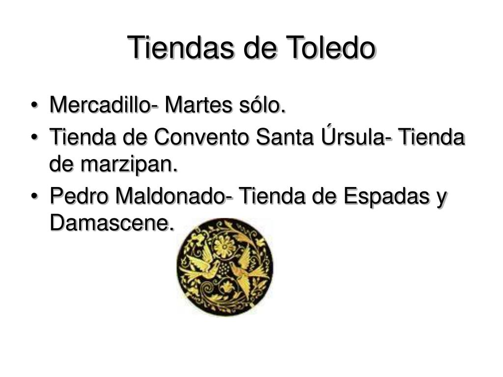 Tiendas de Toledo