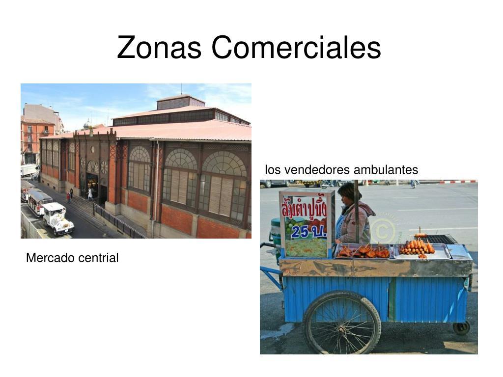 Zonas Comerciales