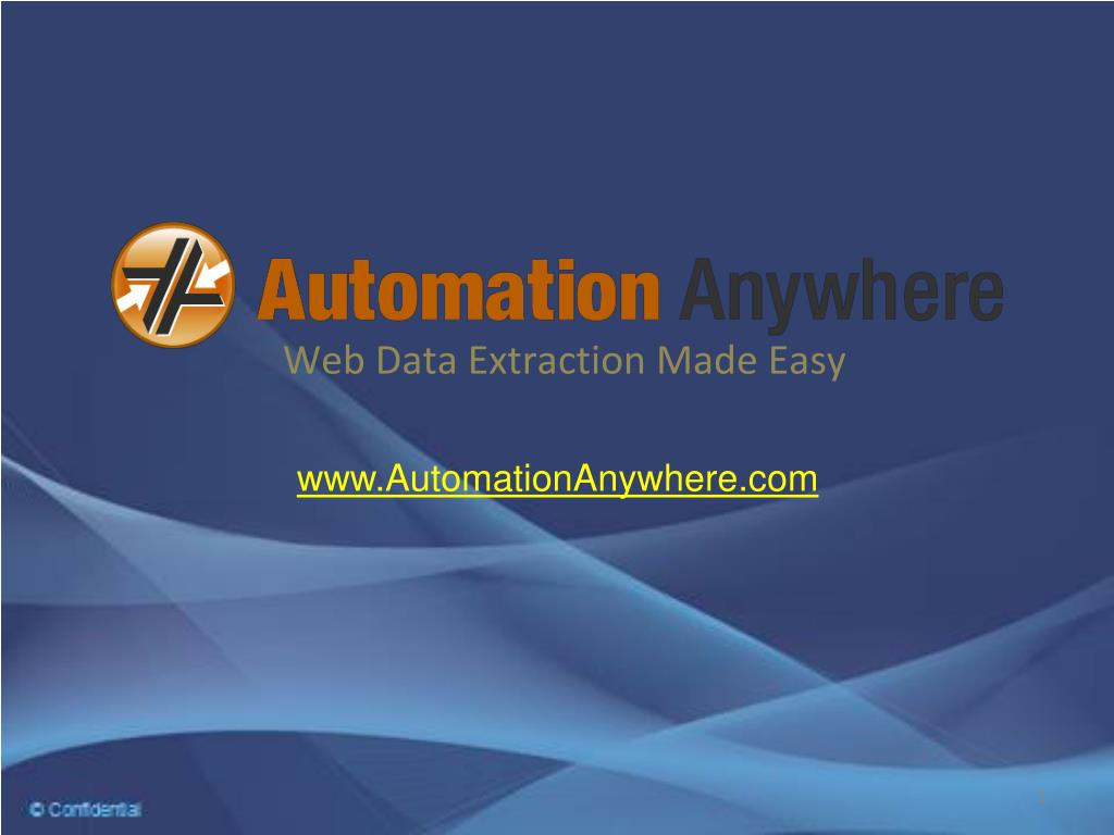 Web Data Extraction Made Easy