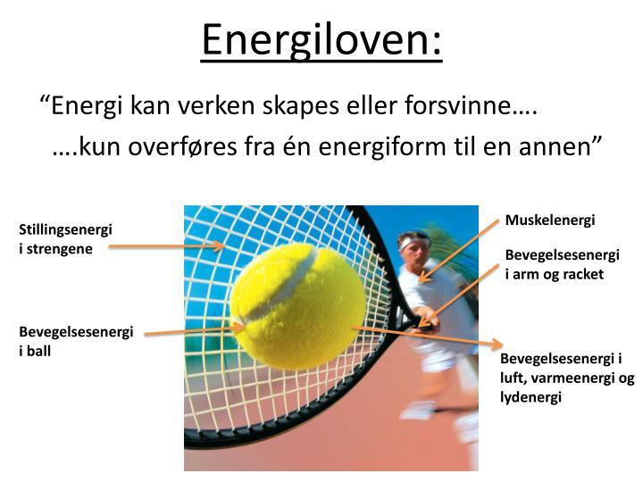 Energiloven: