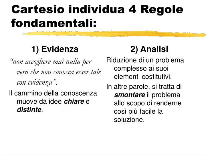 1) Evidenza