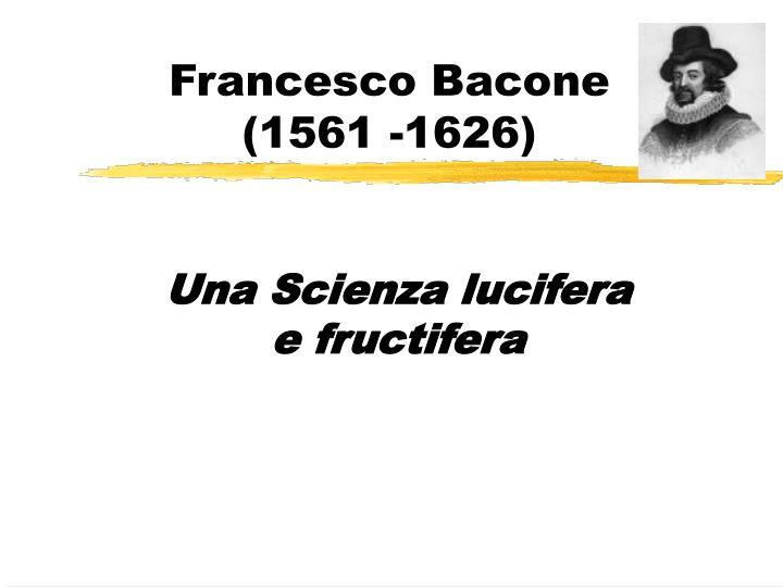 Francesco Bacone