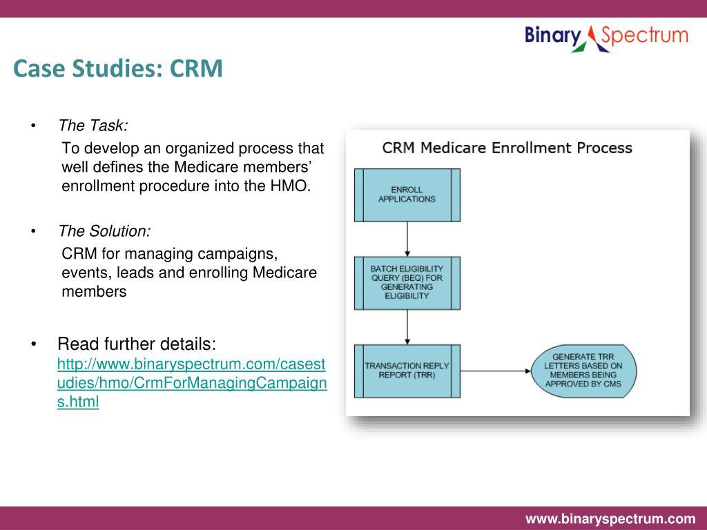 Case Studies: CRM