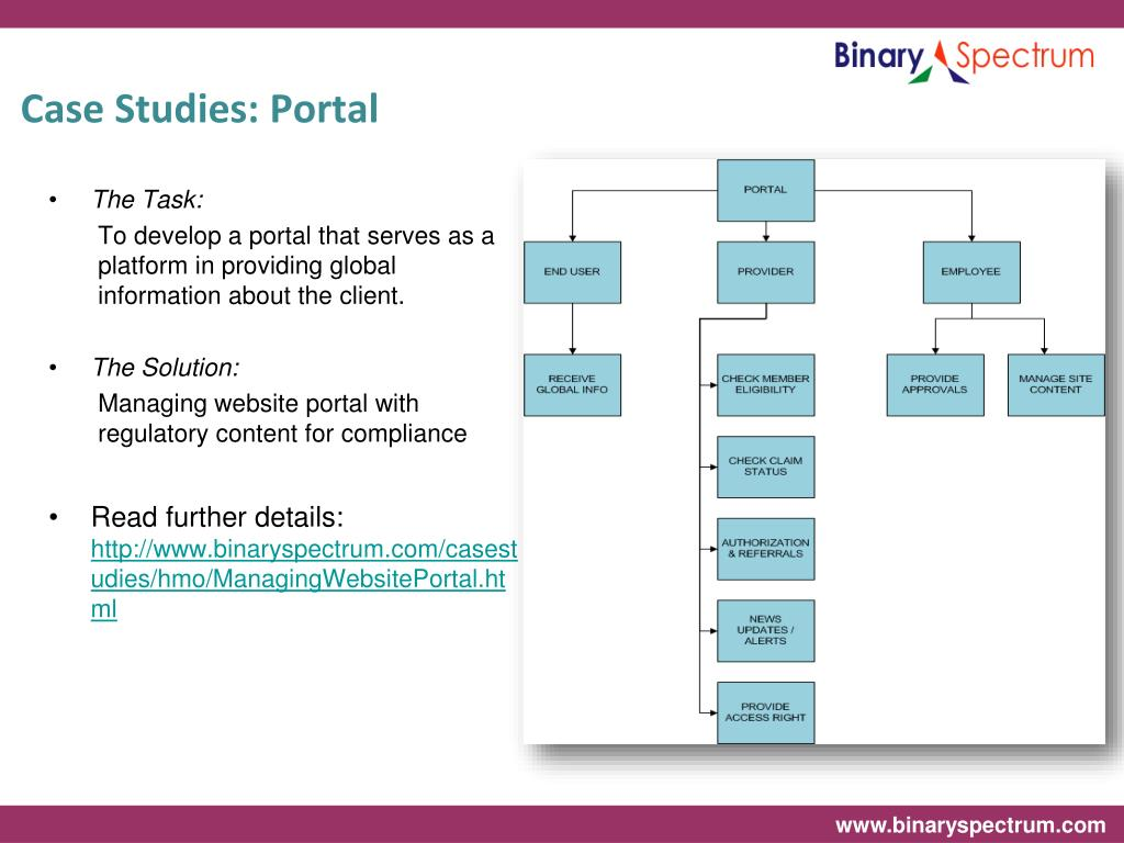 Case Studies: Portal