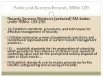 public and business records rsmo 1091
