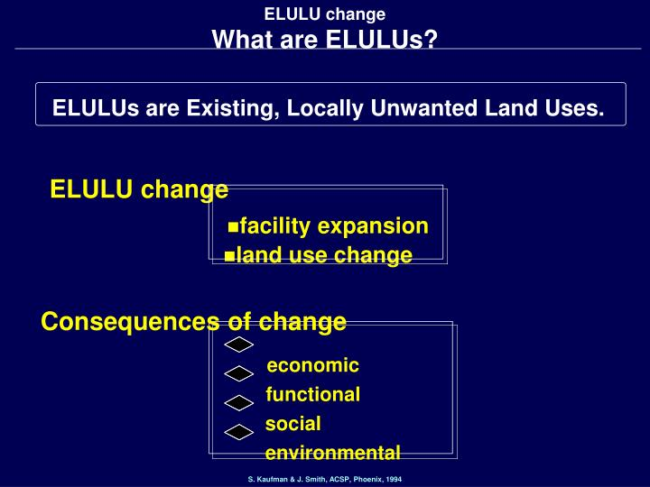 Elulu change what are elulus
