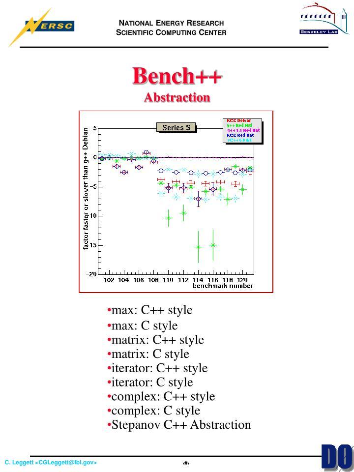 Bench++