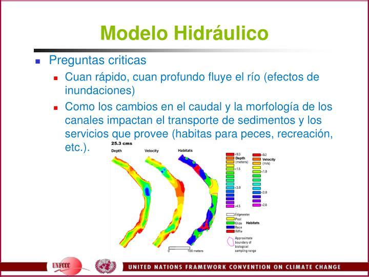Modelo Hidrulico