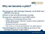 why we became a pilot