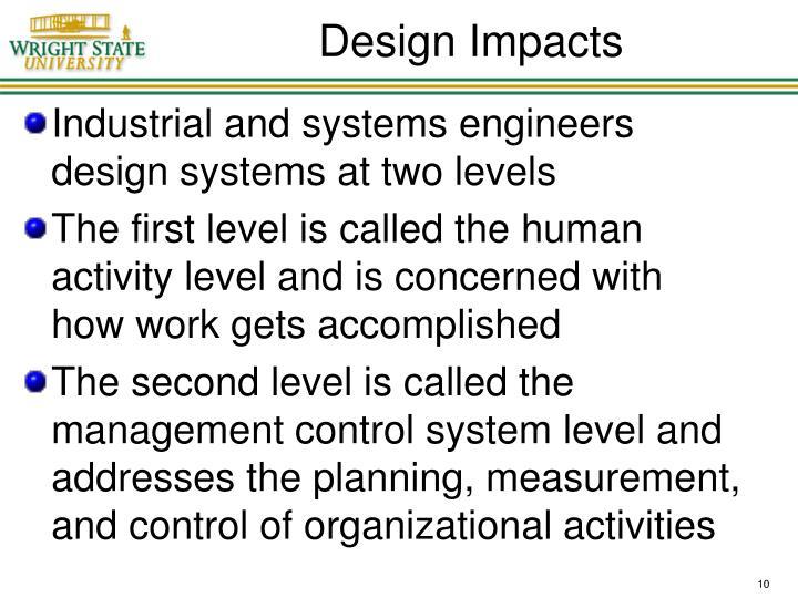Design Impacts