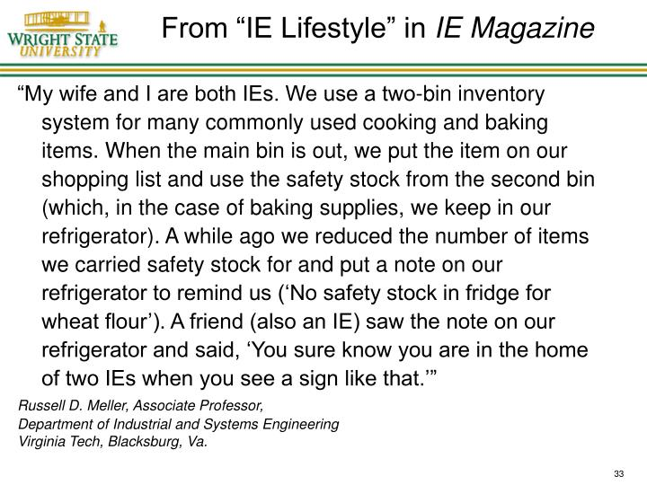"From ""IE Lifestyle"" in"