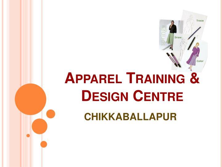 Apparel Training & Design Centre