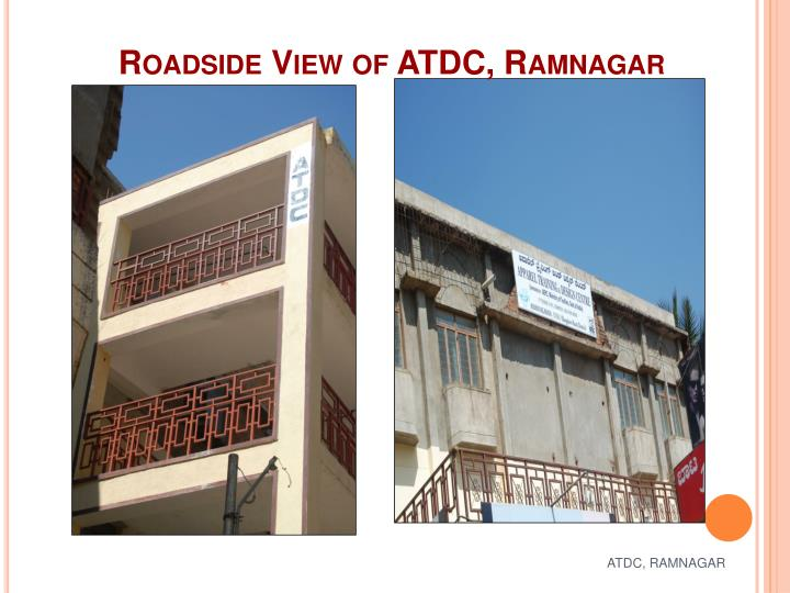 Roadside View of ATDC, Ramnagar