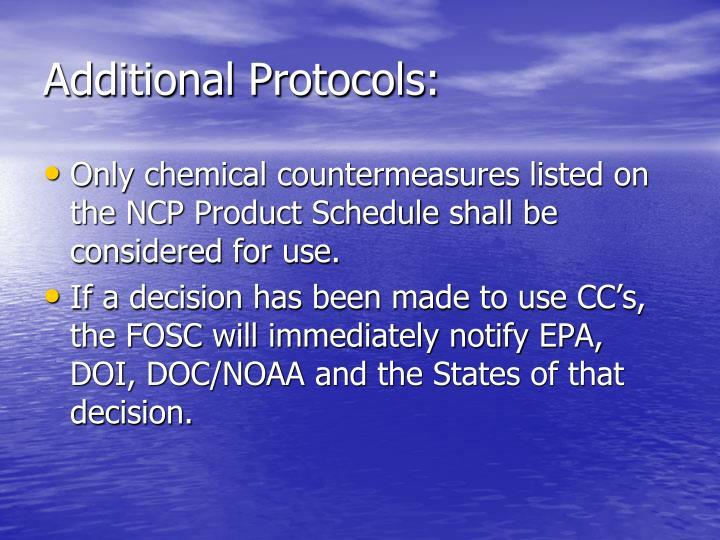 Additional Protocols: