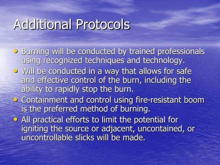 Additional Protocols