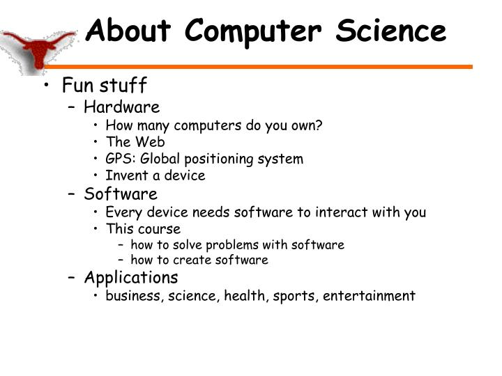 About Computer Science
