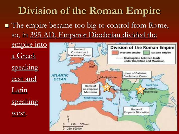 A look into the past of the roman empire