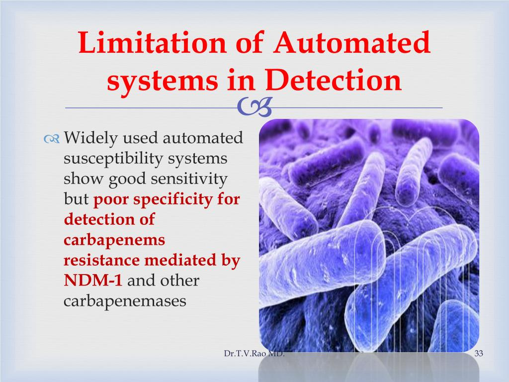 Limitation of Automated systems in Detection
