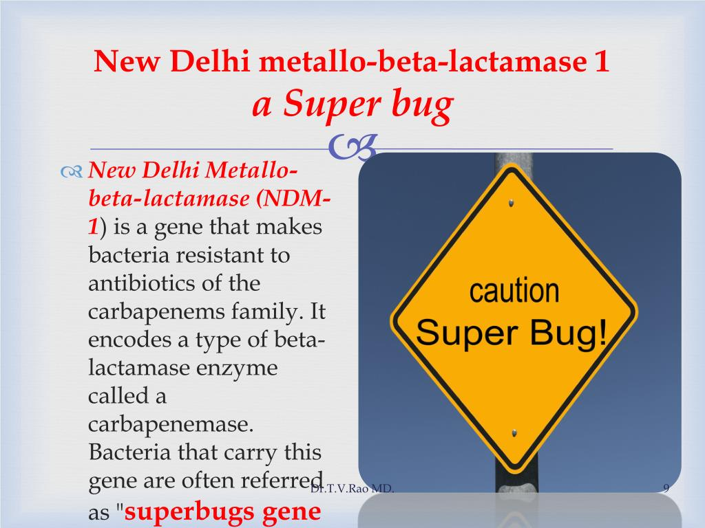 New Delhi metallo-beta-lactamase