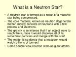 what is a neutron star