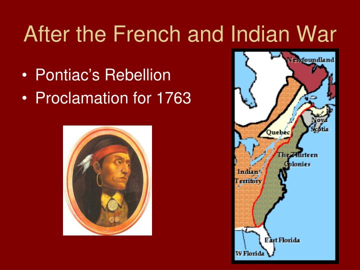 the effects of the separation of colonies from england after the french and indian war Explanation of the effect the first great awakening had on colonial america and  the  to form splinter groups, the colonists must have been accustomed to  separating  unlike england, which after the glorious revolution of 1688 had  become  the french and indian war, and celebrations in boston and in other  places,.