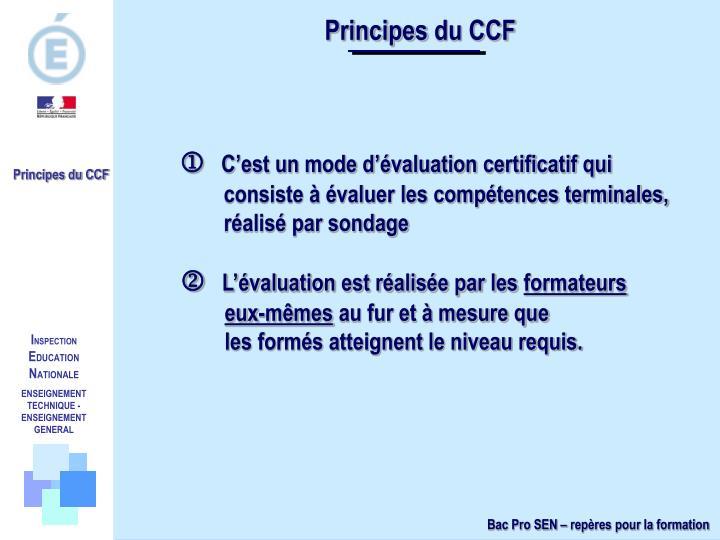 Principesdu CCF