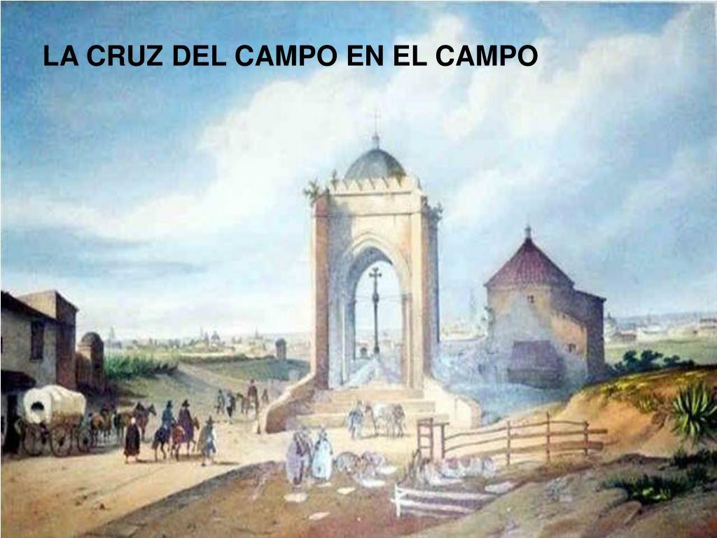 LA CRUZ DEL CAMPO EN EL CAMPO