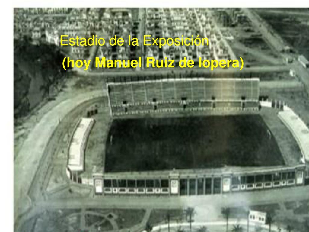 Estadio de la Exposición