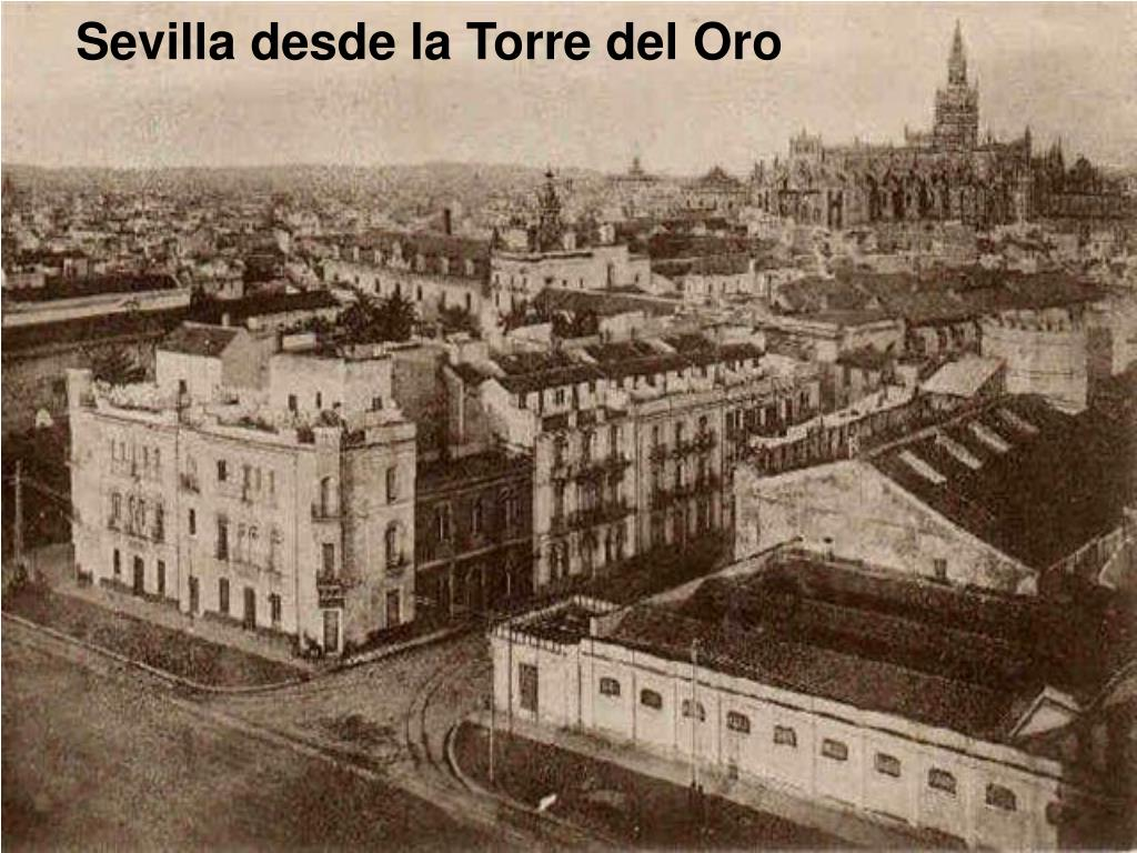 Sevilla desde la Torre del Oro