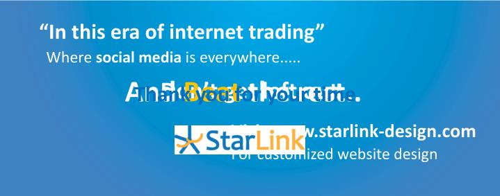 """In this era of internet trading"""