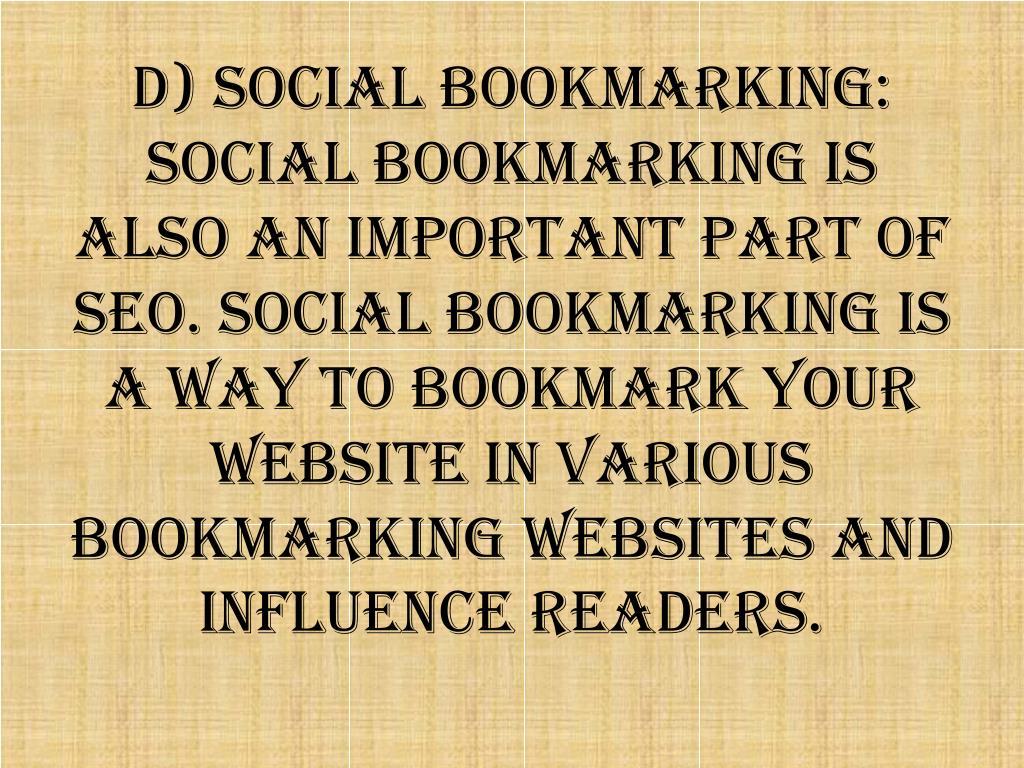d) Social
