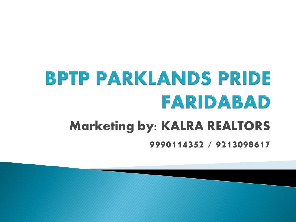 bptp parklands pride faridabad