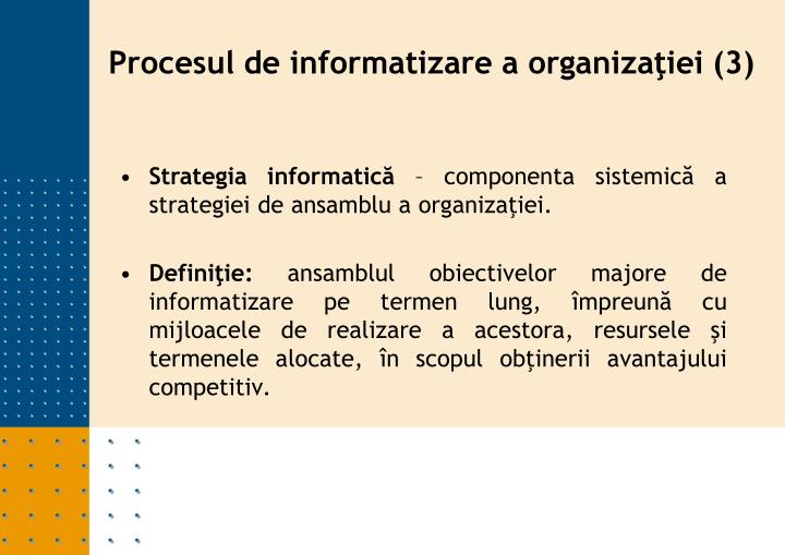 Strategia informatică