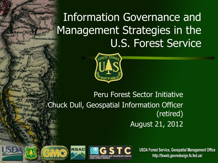 Information governance and management strategies in the u s forest service