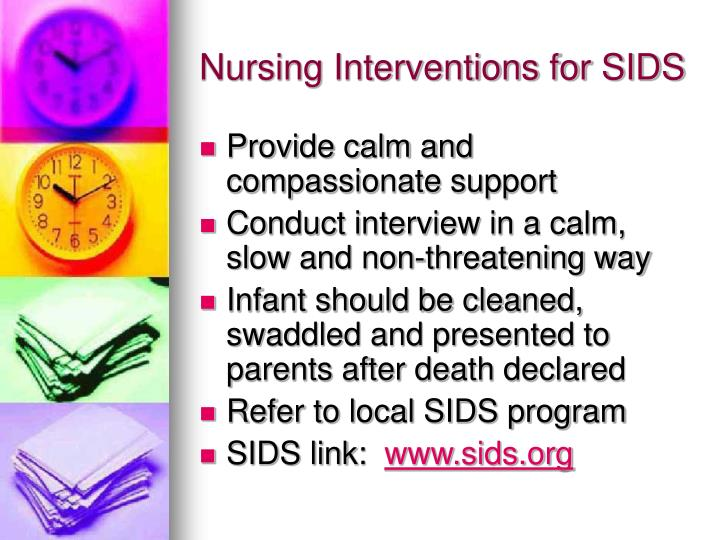 Nursing Interventions for SIDS