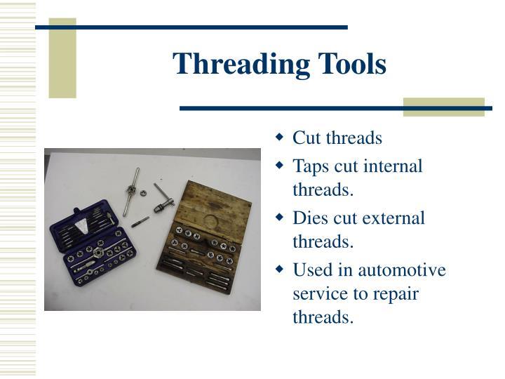 Threading Tools