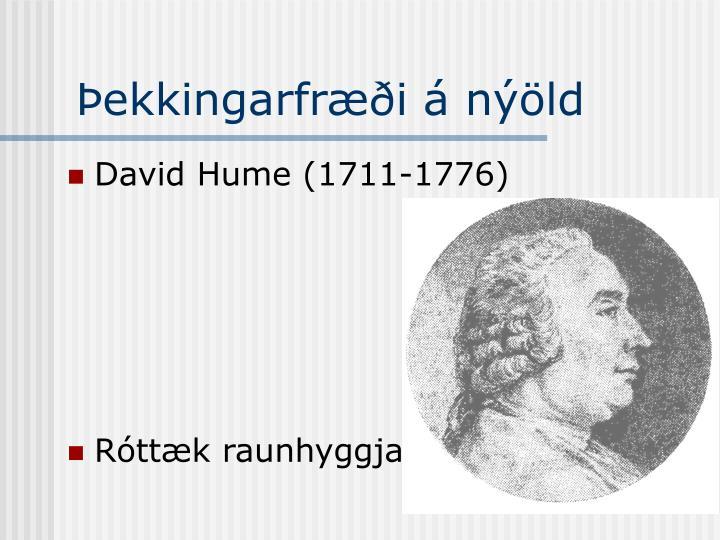 Þekkingarfræði á nýöld