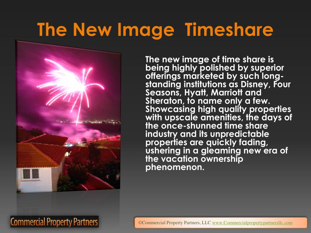 The New Image  Timeshare