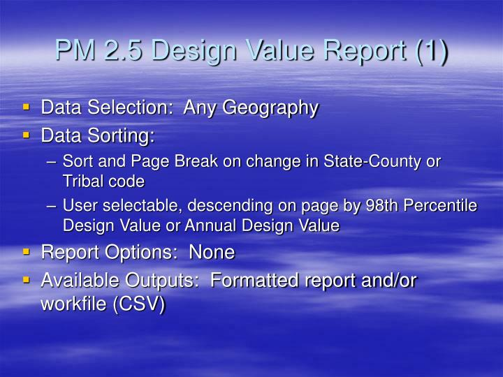 PM 2.5 Design Value Report (1)