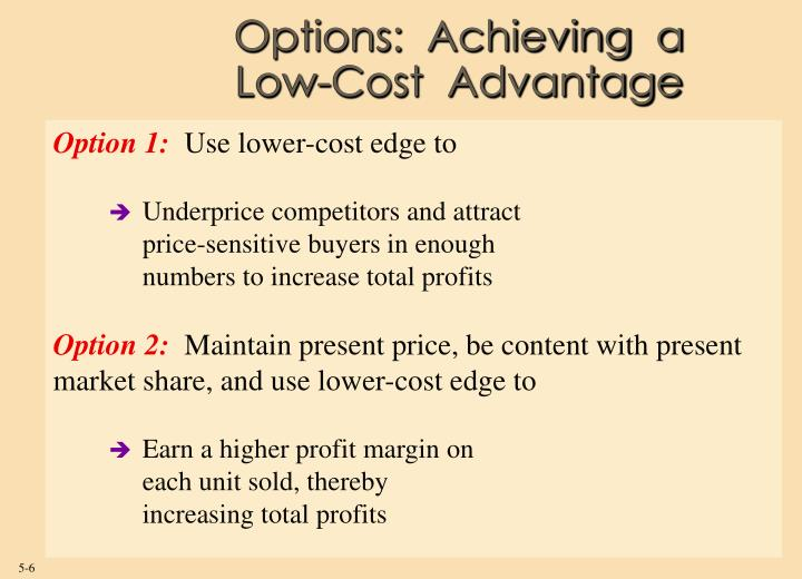 Options:  Achieving  a