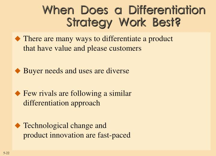 When  Does  a  Differentiation