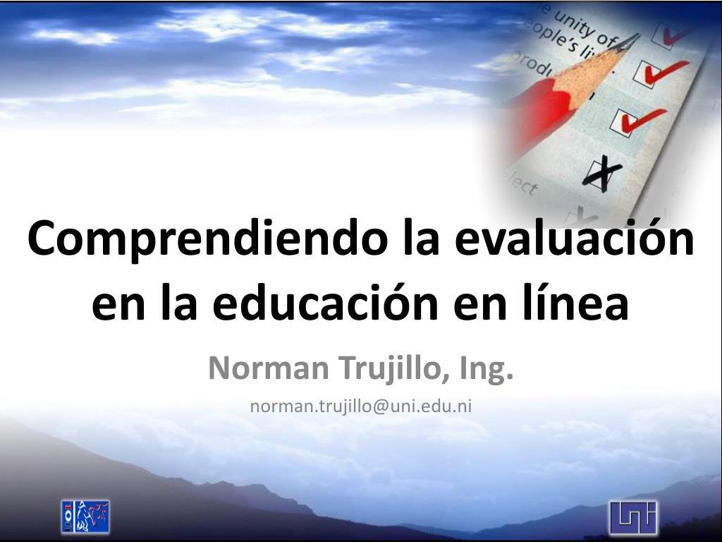 Comprendiendo la evaluación en la educación en línea