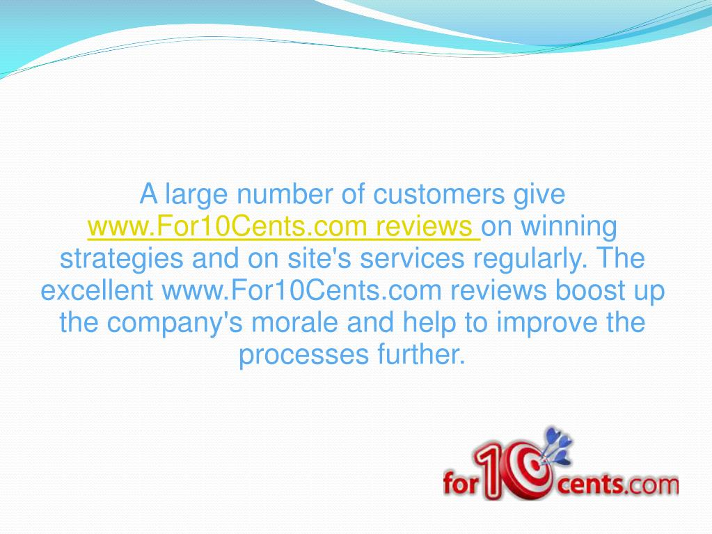 A large number of customers give