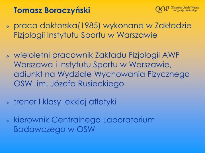 Tomasz Boraczyski