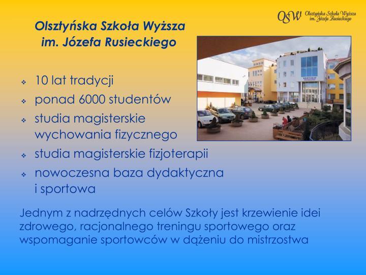 Olsztyska Szkoa Wysza