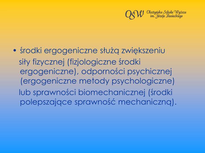 rodki ergogeniczne su zwikszeniu